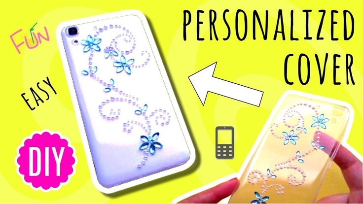 How to make a Phone Cover your Own - easy DIY with only 1 item
