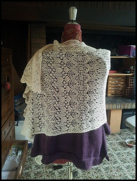 All sizes | O'kelly chapel shawl | Flickr - Photo Sharing!