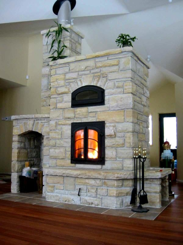 Someday I am going to have an oven fireplace :)