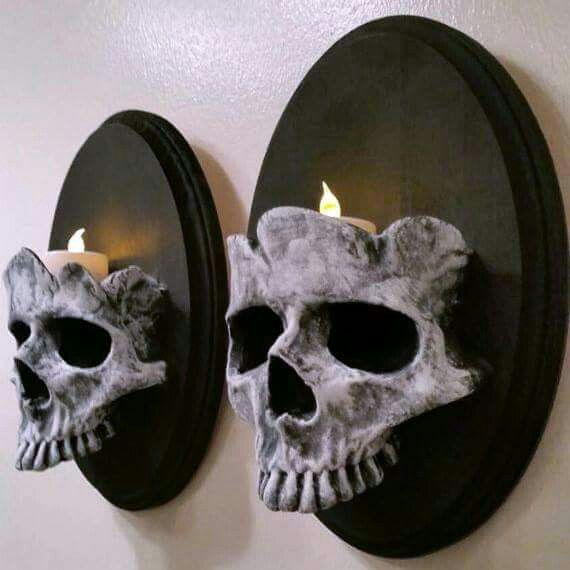 Pinterest Halloween Wall Decor : Skull wall decor halloween skulls
