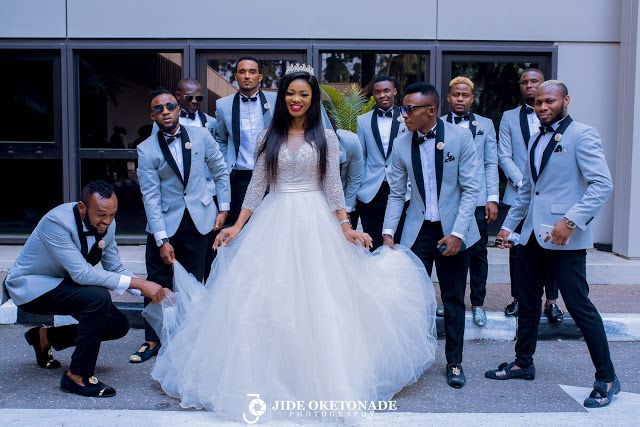 Nigerian international football player Emmanuel ChukwuemekaSunday, took his beautiful wife Janet to alter. Below are some breathtaking pictures from the event, we wish the beautiful couple a happy married life and fruitfulness.  #jes2017 @emmanuel.c.sunday Facebook Comments Related