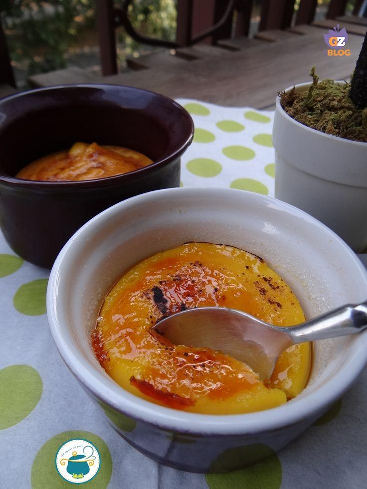 Crema catalana al profumo di arancia