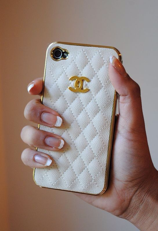 Coco Chanel iPhone case. Wonder where to find it