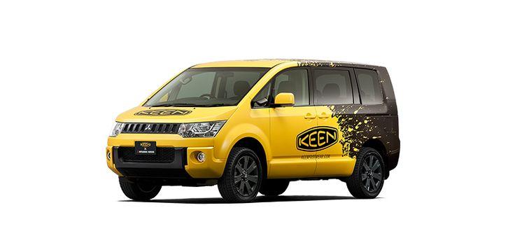 KEEN×デリカD:5 スペシャルコラボレーションカーネーミング投票キャンペーン | デリカD:5 スペシャルサイト | MITSUBISHI MOTORS JAPAN