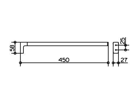 KEUCO Accessoires COLLECTION MOLL Handtuchhalter 12720010000 - Hersteller von hochwertigen Armaturen Badarmaturen Accessoires Badaccessoires Badmöbel Waschtische und Spiegelschränke fürs Bad