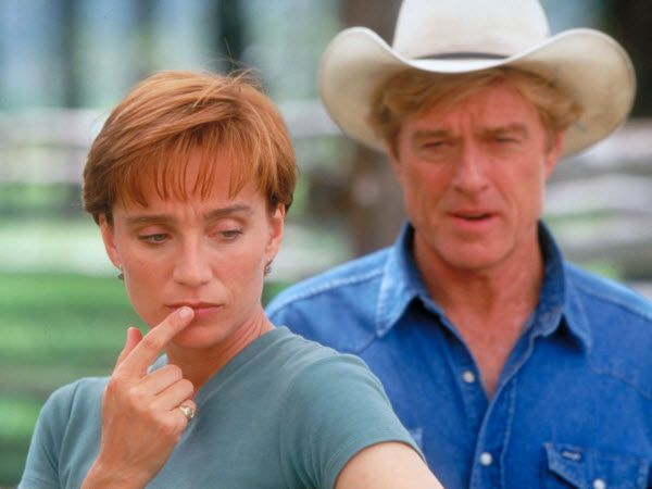 ''The Horse Whisperer'' Kristin Scott Thomas & Robert Redford