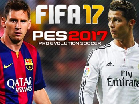 FIFA 2017 vs PES 2017