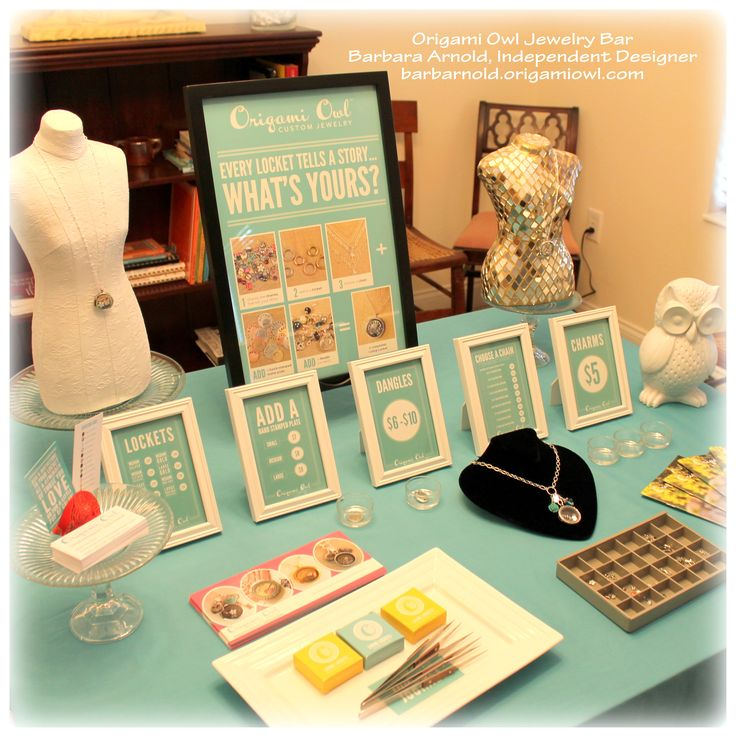 Join my team! Book a Jewelry Bar with me! Or order online at: www.livelovedream.origamiowl.com :)