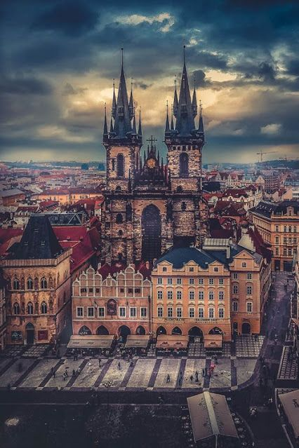 Prague, Czech Republic...