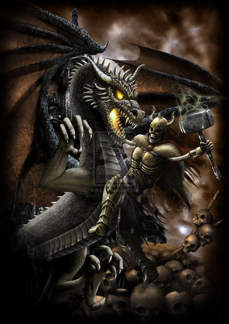 Deviantart Wallpapers Girl Dragon Slayer 2 By Chrisbryancreative Cool Art Dragon