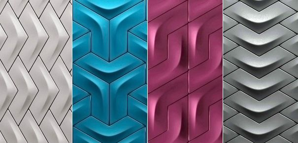 Versatile Wall Tiles Collection by designer Yigit Ozer