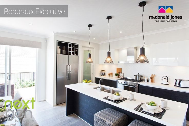 Love this Kitchen in the Bordeaux, an architecturally designed home for contemporary family living.