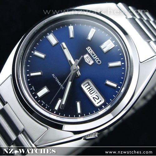 SEIKO 5 Automatic Watch See-thru Back SNXS77K