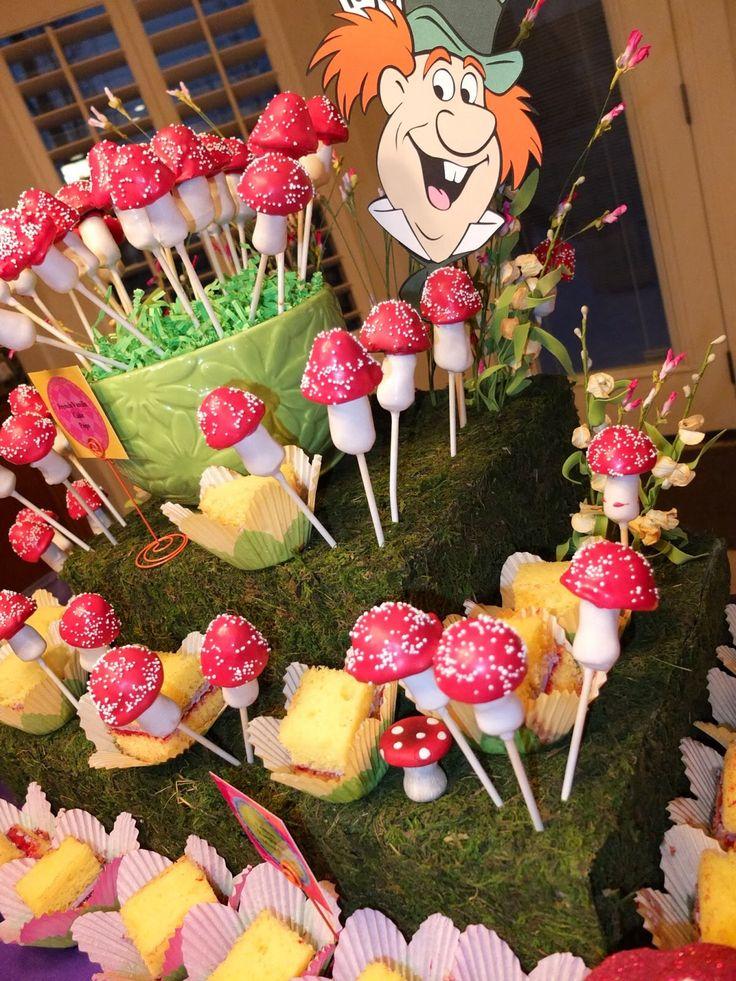 mad hatter teparty invitations pinterest%0A Alice in wonderland cake pops  Mad Hatter