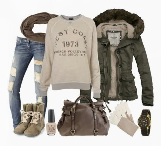 Casual and Comfy Fall Outfit