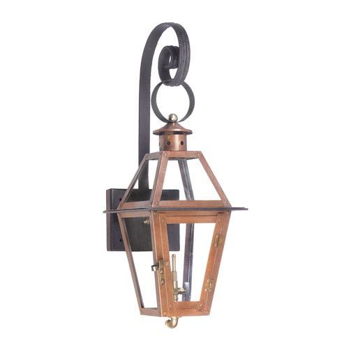 Grande Isle Aged Copper 27 Inch Outdoor Wall Sconce Elk Lighting Wall Mounted