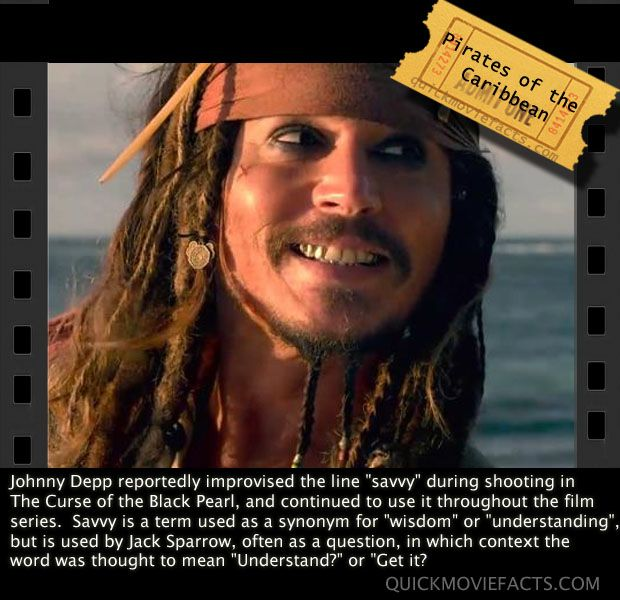 Pirates Of The Caribbean fact