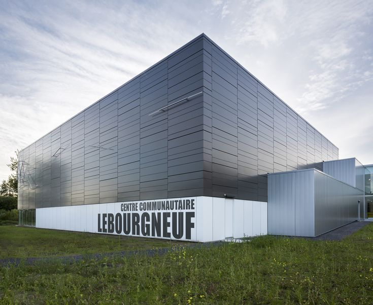Gallery - Lebourgneuf Community Center / CCM2 architectes - 1