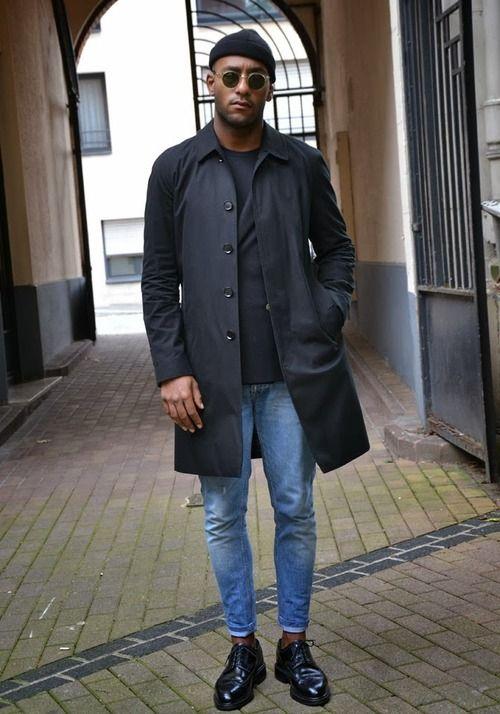 black paraka jacket