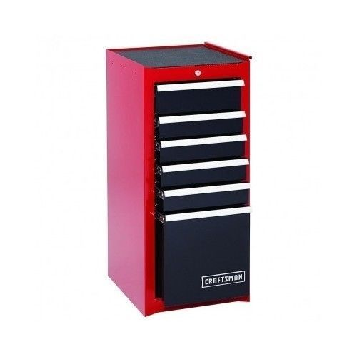 this is such a cool addition to have craftsman tool box chest side cabinet garage storage. Black Bedroom Furniture Sets. Home Design Ideas