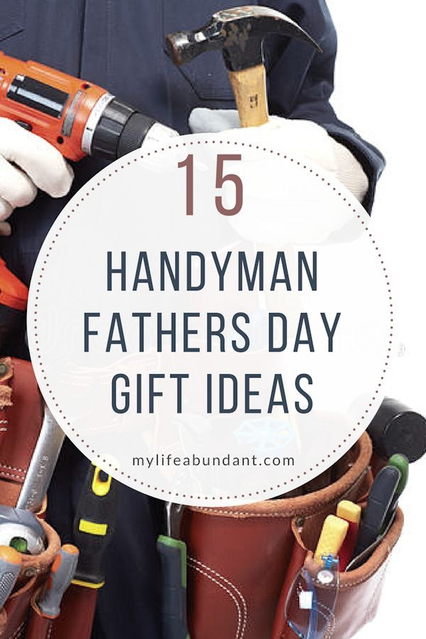 "Looking for handyman gift ideas for dad. Here are a few ""must haves"" for you home which are used often for fix ups."