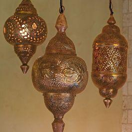 Mediterranean Pendant Lamps - so gorgeous!