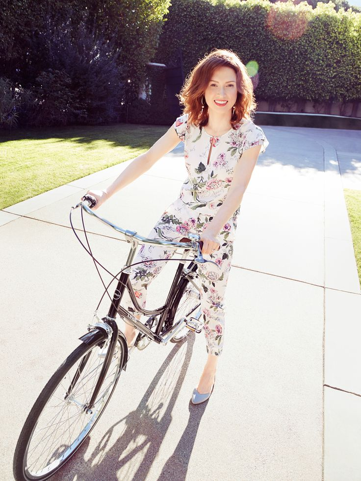 Ellie Kemper - Mei Tao Photoshoot for Redbook April 2015