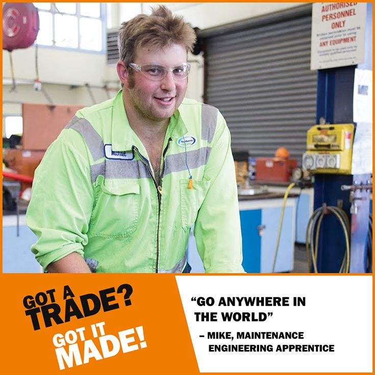 A #trade #qualification provides you with transferable skills that could take you ANYWHERE you want to go. #GotATrade