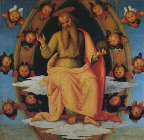 Pala di Sant Agostino (LordBlessing) - Pietro Perugino