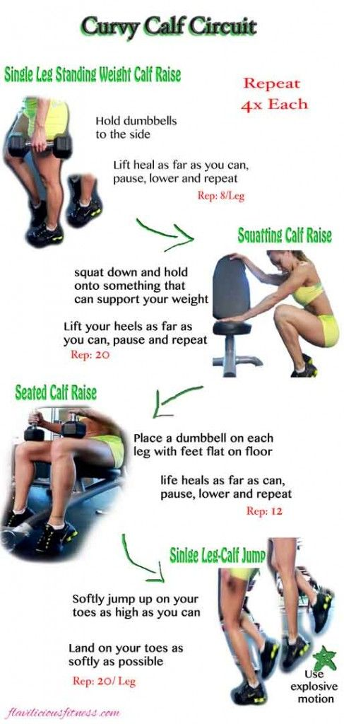 Fitness Tip Tuesday – Curvy Calf Circuit - Fitness For Women by Flavia Del Monte