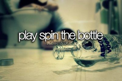 bucket list before i die play spin the bottle.. THIS Would be awesome! Rockin it old school :)