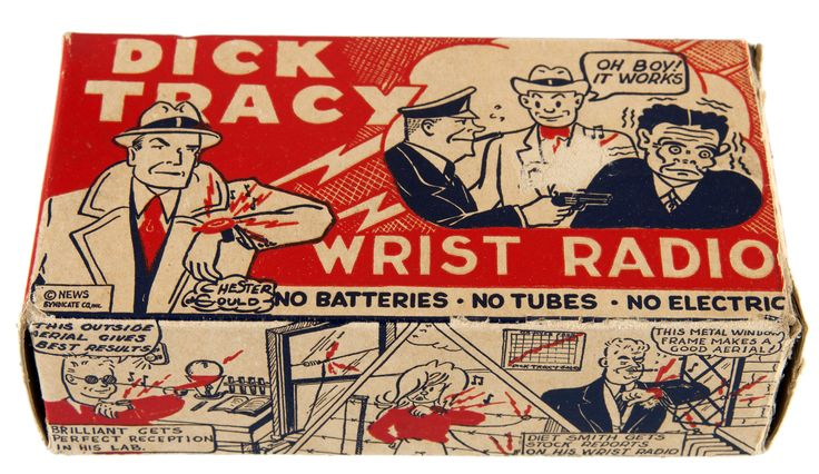 DICK TRACY WRIST RADIO