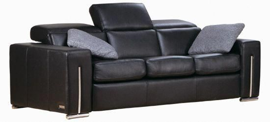 Astounding Sofa Edge Contemporary Style Linea 30 Collection Black Ibusinesslaw Wood Chair Design Ideas Ibusinesslaworg
