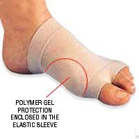 Genuine Silipos Bunion Care Gel Sleeve - Small/Medium Product #10325. Mineral oil gel pad cushions, protects, and reduces pressure on affected area. This product is washable and reusable. Packaged in a polybag. Anatomically designed to comfortably conform to the shape of the bunion. Helps to reduce scarring after surgery. 10325 S/M for shoe widths up to C. Also helps prevent the formation of painful hypertrophic and keloid scars. Bunion Care Gel SleeveAnatomically designed to...