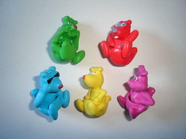 Kinder Surprise Set Funny Kangaroos Kids 2009 Figures Toys Collectibles | eBay