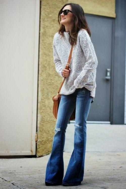 18 Stylish Ways To Wear Flared Jeans | Styleoholic