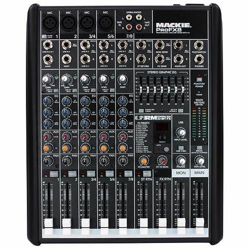 Mackie Pro FX 8 Mixer with Digital FX | Andertons