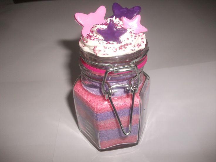 dcor papillon papillon etoile toile vaisselle verres par en verre petit bocal sable color fausse boutique lesfantaisiesdekarine - Sable Colore