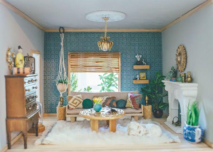 Dollhouse living room furniture