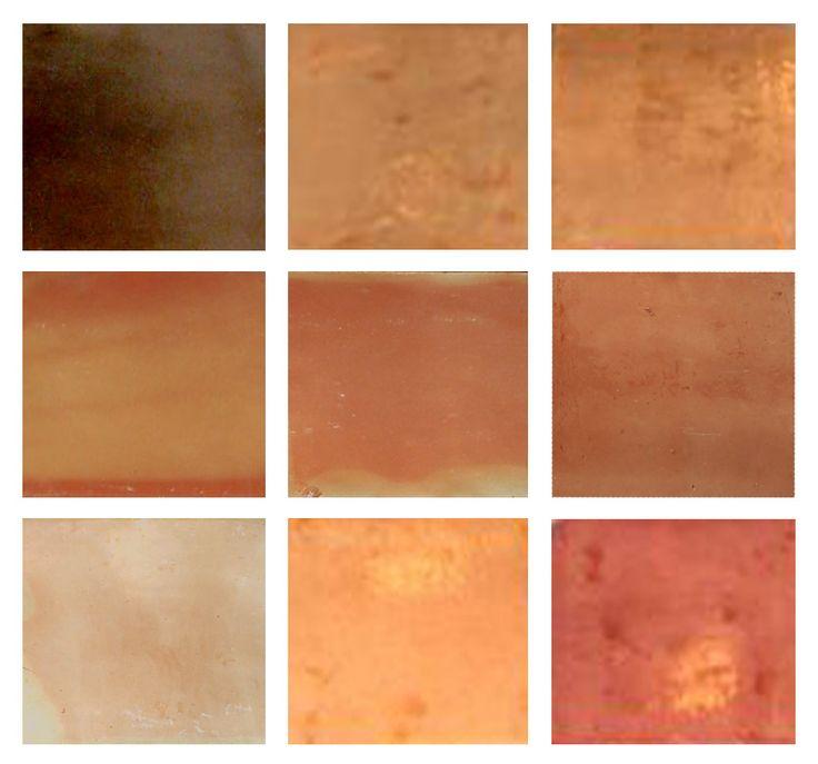 Saltillo Terra Cotta Tile Stain Colors