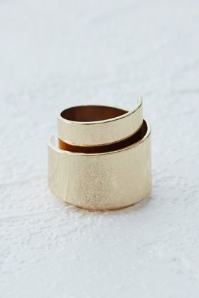 Check out this Statement Wrap Ring from Warehouse.