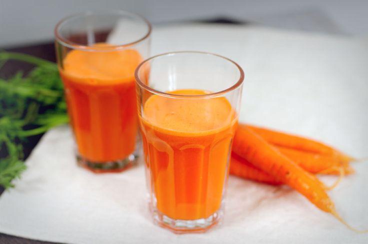 Zelf wortelsap maken is simpel, leuk en lekker! Deze wortelsap is behalve leuk om te zien ook erg gezond. Wortel bevat veel vitamine A, wat onder andere goed is voor je ogen.