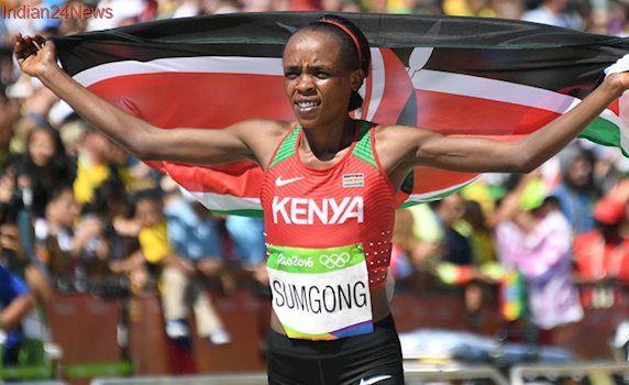 Rio 2016 Olympic marathon champion Jemima Sumgong fails drugs test: IAAF