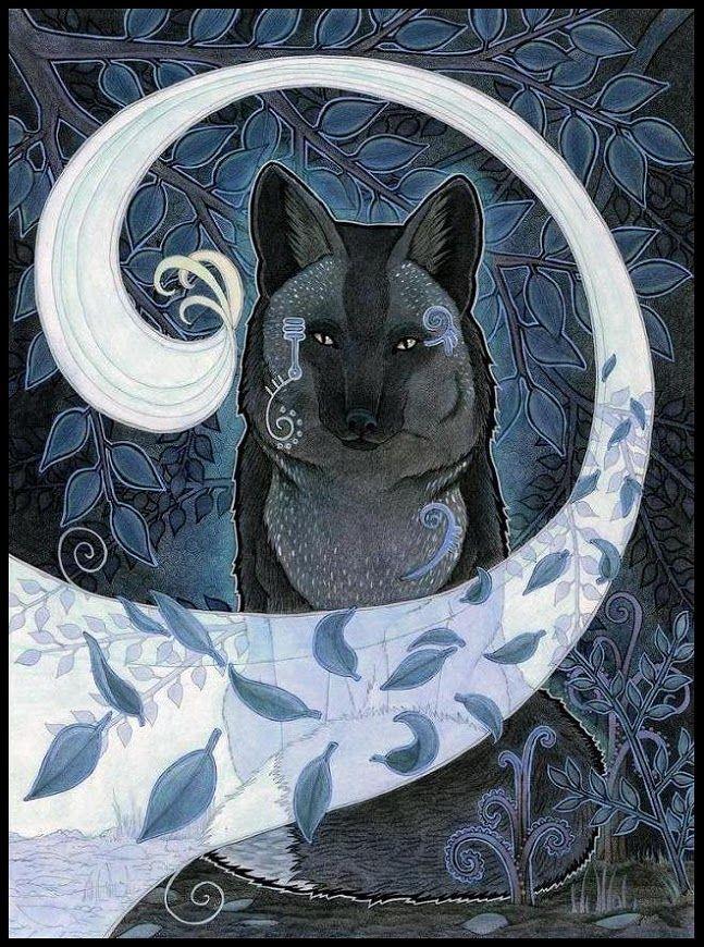 Пиа Равенари. Магические лисички и другие звери - Все интересное в искусстве и не только.