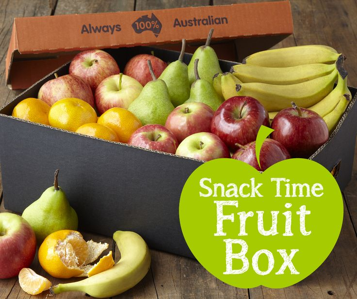 Get the kids ready for back to school with our famous 'Snack Time Fruit Box'. 40 pieces of kid-sized fruit for just $19.99. #BackToSchool #Fruit #Kids #Healthy