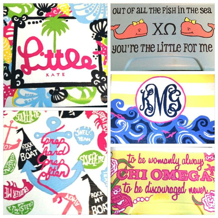 Lovely Lilly and Vineyard Vines Sorority Cooler