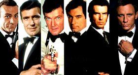 Daftar Aktor Pemeran James Bond dari Tahun ke Tahun
