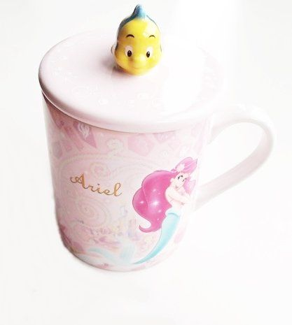 Ariel x Fran da mug (with lid) Little Mermaid Disney Resort goods [limited] (japan import) @ niftywarehouse.com