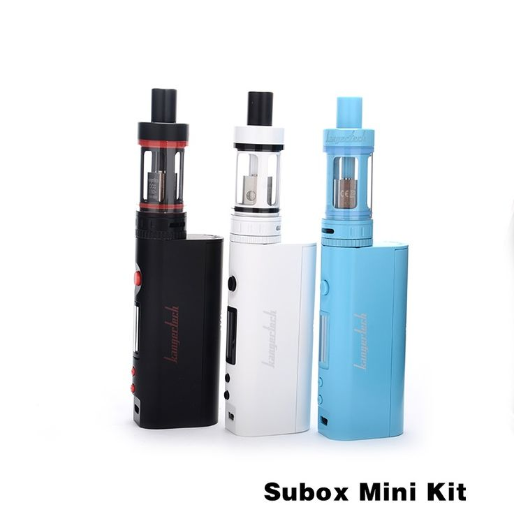 100% Original Kanger Subox Mini Starter Kit Electronic Cigarette Kits With 4.5ml Subox Mini 50w Temperature Control E-Cig Vape