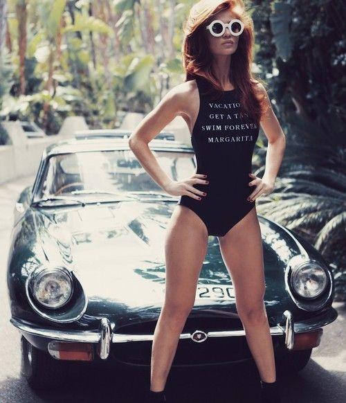 #Model Cintia Dicker Star Latest #Wildfox #Swimwear Ad